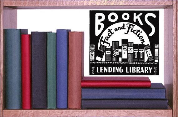 Library Decor Book Decor Book Decal Library By Vinylwallaccents