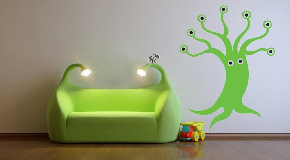 monsters inc bedroom decor monster tree inc eyeballs