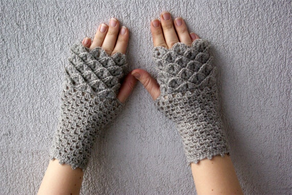 Fingerless gloves handmade mittens hand knitted  gloves Ladies gloves pastels beige neutral pure wool Wool gloves womens fingerless gloves