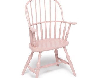 Child's sack-back Windsor chair