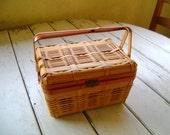 Vintage Lunch Basket