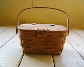 Rustic tackle box