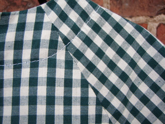 Fairtrade Organic Cotton Gingham Cotton, light weight, by the yard/ meter SALE