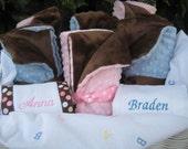 Luxurious Baby Girl Blanket