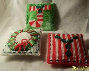 Christmas JOY Three- Piece- Pillow