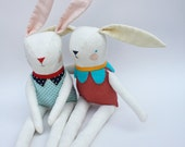 Creamy White Rabbit Stuffed Toy for Marnie