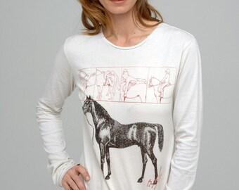 Womens Organic Cotton Long Sleeve T-shirt