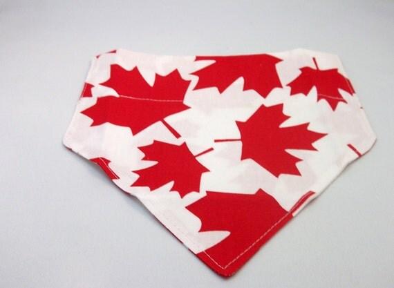 Maple leaf Dog Bandana