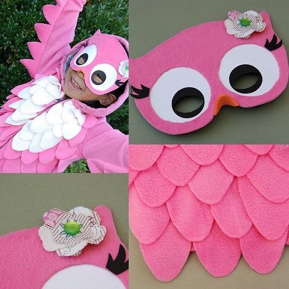 Custom Owl Costume Kits for Julie