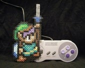 "Perler Link from SNES ""A Link to the Past"""