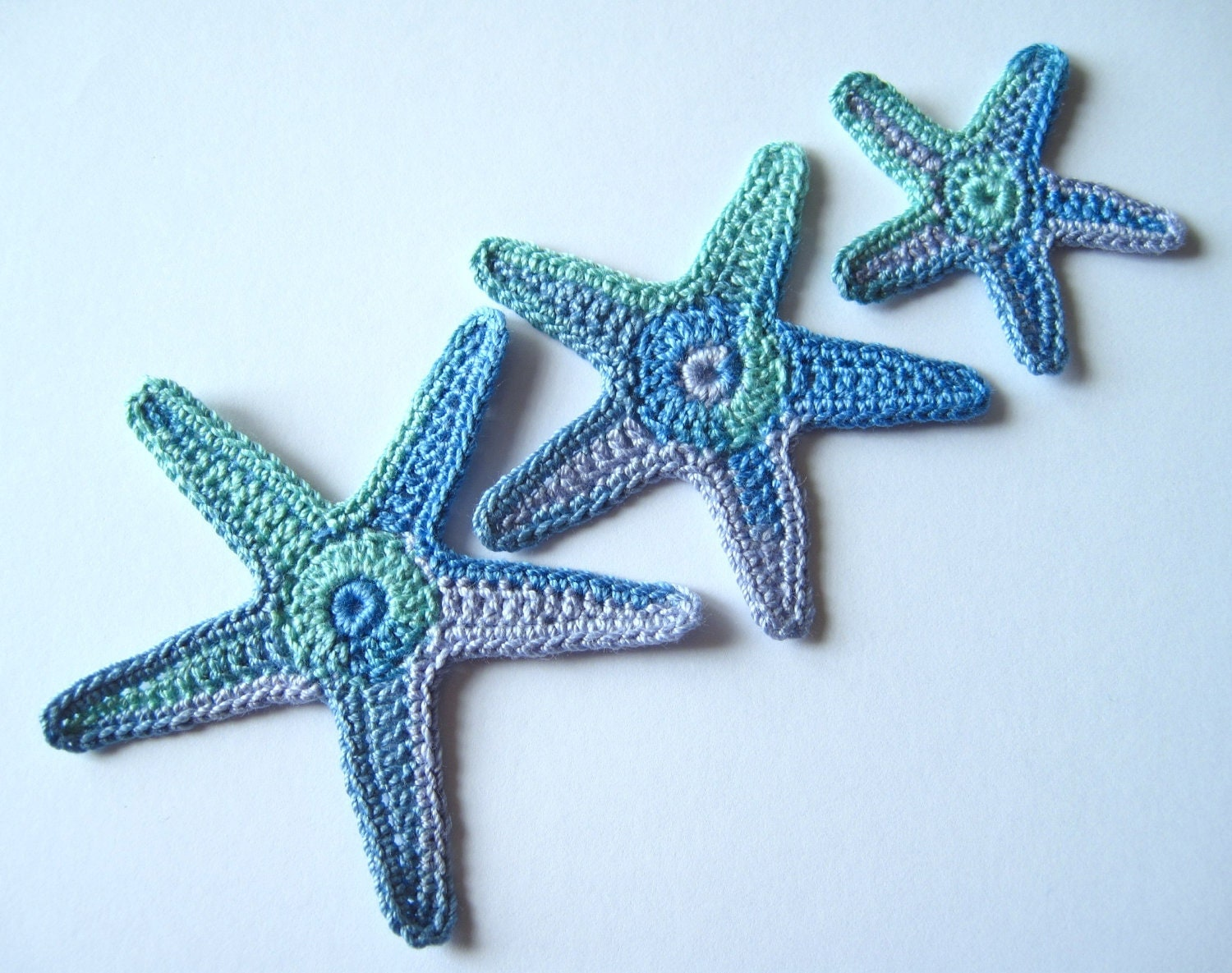 Crochet Starfish Sea Star Applique