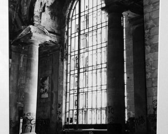 Michigan Central Station, silver gelatin print
