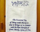 Horse Quotation Tea Towel