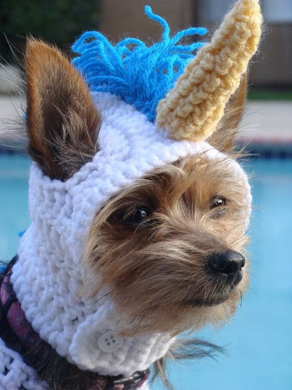 Unicorn Outfit: Handmade Costume For Dogs and Cats
