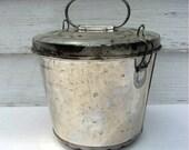 Vintage Pudding Mold Tin 1950s, Germany