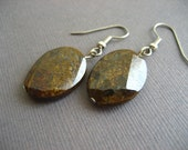Bronzite Gemstone Earrings