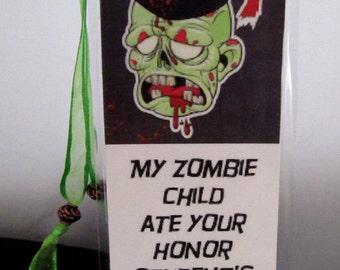 Zombie Bookmark no. 2