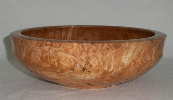 Western Big Leaf Maple Burl Bowl