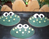 FROGS for Spring Ornaments