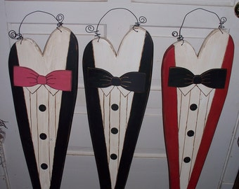 Tuxedo Heart just in time for  Valentines Day