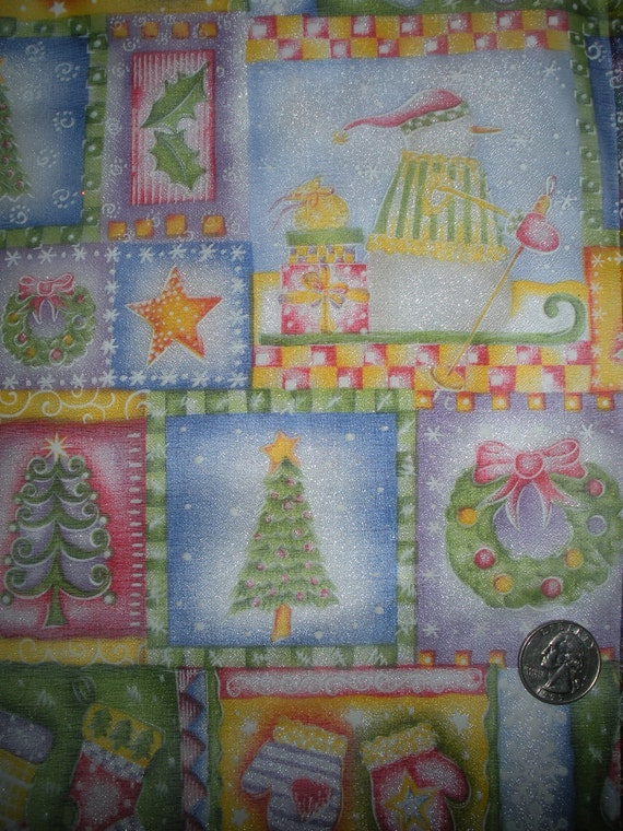 Iridescent  Sheer Christmas Print...... 1  yard ... Item No. 5109M
