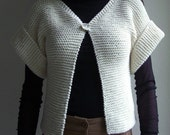 Cardigan wool/coton ordered by rosebudbaby's