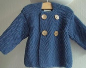 Jacket in a mérino, cashmere and silk yarn ordered by Pooch95