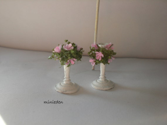 RESERVED LISTING    -----Shabby chic chandelier miniature