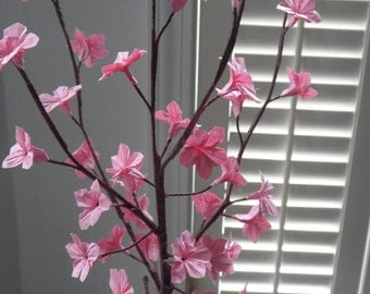 Origami Paper Cherry Blossoms - Pink