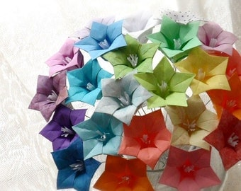 Oh So Ombre - Origami Paper Flower Bouquet