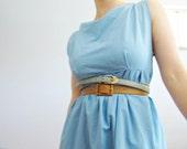 blue dew dress
