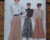 Very Easy Vogue Skirt Pattern 9789 size 14 16 18