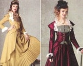 Steampunk Jacket and Skirt Pattern Simplicity 2172 (Womens sizes 6-8-10-12)