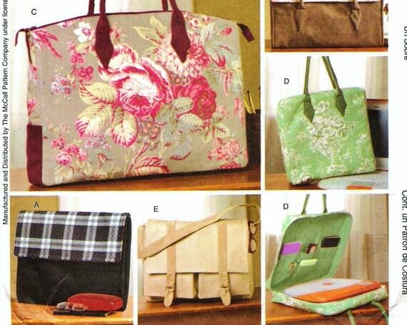 Laura Ashley Messenger Bags Pattern McCalls 4531