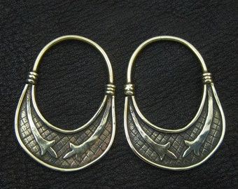 Bronze temple rings from medieval Slovenia