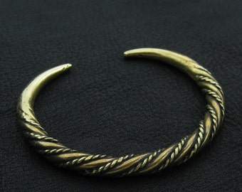 Bronze Viking bracelet