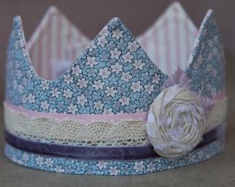 Fabric Crown - Princess Betty