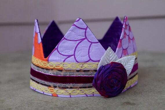 Fabric Crown - Princess Anna