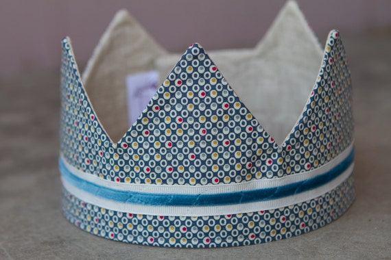 Fabric Crown - Prince Michael