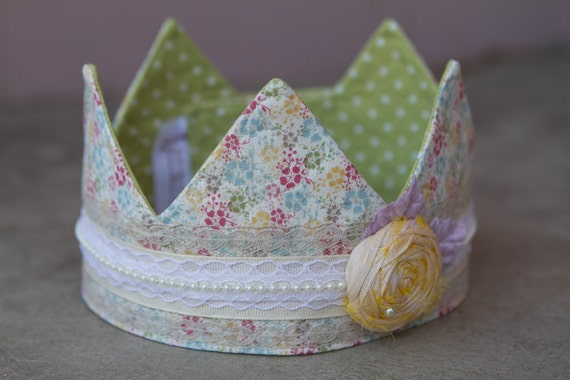 Fabric Crown - Princess Taylor