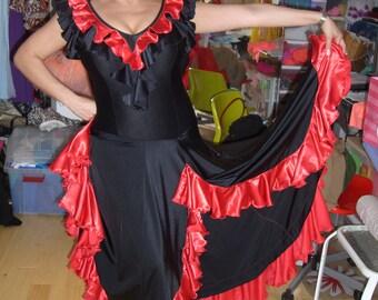 Black Tango Dress  Dress For Tango