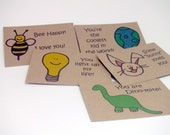Lunchbox notes 2nd Edition on brown recycled kraft