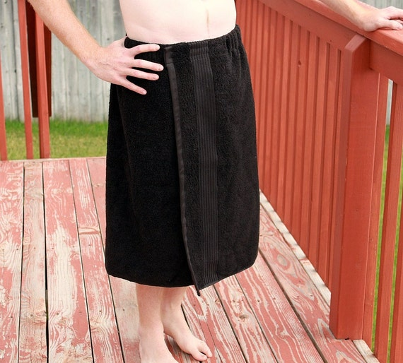 Mens Towel Wrap Spa WrapYOU PICK The By CarriedAwayCreations