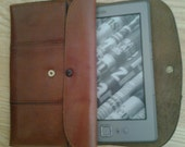 Vintage Kindle Leather holder - Arpelle Italian from 1970s