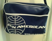 Pan American Airlines Vinyl bag - limted edition