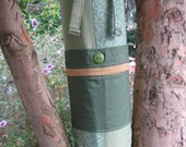 Yoga Mat Bag - Green, Calm, & Collected