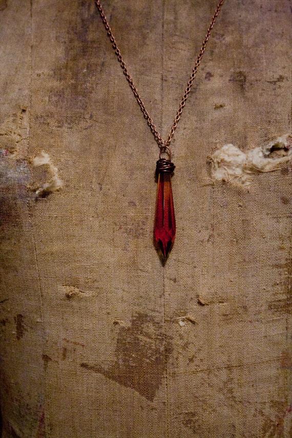 Ombre Pendulum Necklace