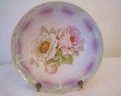 Beautiful Bowl, Pink and White Roses