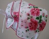 Roses Roses Handkerchief Bonnet