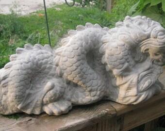 Concrete Large Garden Dragon